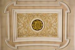 Basilica of Alberobello. Ceiling. Basilica of Alberobello. Detail decoration ceiling Stock Photo