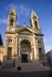 Basilica of Alberobello. Sanctuary. Parish Shrine. Basilica of Saints Cosmas and Damian. Alberobello. Puglia Stock Photography