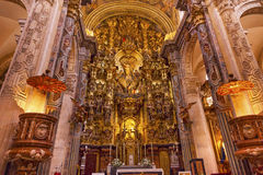 Basilica Altar Church of El Salvador Seville Andalusia Spain Royalty Free Stock Image