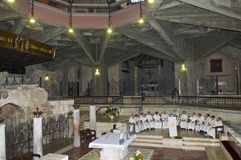 The Basilica of the Annunciation Stock Image