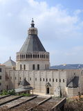 Basilica of Annunciation from Centre Marie Stock Photography