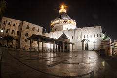 Basilica of the Annunciation. Royalty Free Stock Photography