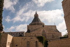 Basilica of the Annunciation royalty free stock photography