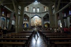 Basilica of the Annunciation in Nazareth Royalty Free Stock Photos