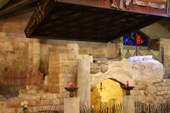 Basilica of the Annunciation, Nazareth stock photography