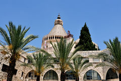 Basilica of the Annunciation in Nazareth Stock Images