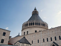 Basilica of the Annunciation, Nazareth, Israel Royalty Free Stock Photography