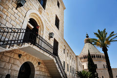 The Basilica of the Annunciation in Nazareth Israel Royalty Free Stock Images