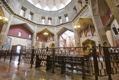 Basilica of the Annunciation in Nazareth, Israel Royalty Free Stock Photos