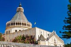 Basilica of the Annunciation, a Roman Catholic church in Nazareth. Israel Stock Photography