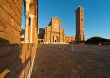 Basilica Anzio immagini stock libere da diritti