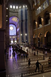 Basilica of Aparecida. The Basilica of the National Shrine of Our Lady of Aparecida is a prominent Roman Catholic Latin-rite Basilica located in Aparecida Royalty Free Stock Photos