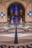 Basilica of Aparecida. The Basilica of the National Shrine of Our Lady of Aparecida is a prominent Roman Catholic Latin-rite Basilica located in Aparecida Stock Photography