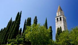 Basilica of Aquileia royalty free stock photography