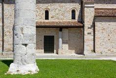 Basilica of Aquileia royalty free stock image