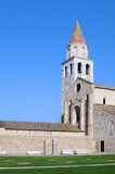 Basilica of Aquileia in Italy Royalty Free Stock Photography