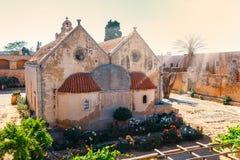 Basilica of Arkadi Monastery on Crete Royalty Free Stock Images