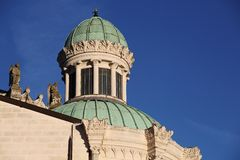 Basilica of Ars sur Formans Royalty Free Stock Photography