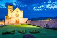 Basilica in Assisi, Umbria, Italy Stock Photo