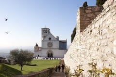Basilica of Assisi royalty free stock photo