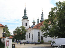 Basilica of the Assumption of Our Lady. Strahov Monastery Royalty Free Stock Photo