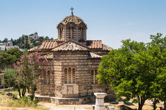 Basilica in Athens, Greece Royalty Free Stock Images
