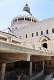Basilica av annunciationen i Nazareth Royaltyfri Fotografi