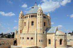Basilica av den Dormition abbeyen Arkivbild