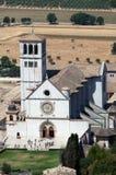 Basilica av den San Francesco d'Assisien Arkivbild