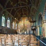 Basilica av det heliga blod i Bruges. Arkivbild