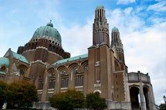 Basilica av Koekelberg Arkivbild