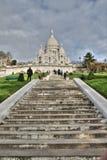 Basilica av Sacre Coeur, Paris Fotografering för Bildbyråer