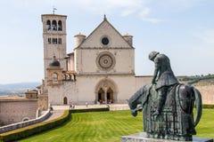 Basilica av Sanktt Francis Royaltyfria Foton