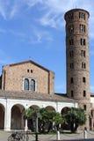 Basilica av Sant'apollinare Nuovo, Ravenna, Italien Arkivfoto