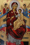 Basilica av Santa Maria del Popolo vektor illustrationer