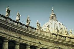 Basilica av St Peter Fotografering för Bildbyråer