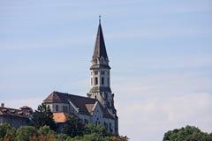 Basilica av umgänget, Annecy Royaltyfria Foton