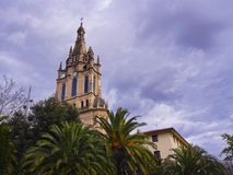 Basilica of Begona in Bilbao Royalty Free Stock Images