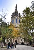 Basilica of Begona in Bilbao Royalty Free Stock Photo