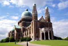 basilica Belgien nationellt s Arkivfoton