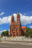 Basilica in Bialystok Royalty Free Stock Image
