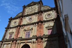 Basilica of Bom Jesus, Goa. Basilica of Bom Jesus Church, Goa, India Stock Image