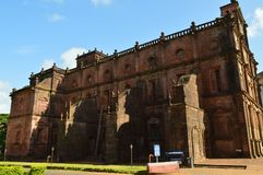 Basilica of Bom Jesus, Goa. Basilica of Bom Jesus Church, Goa, India Royalty Free Stock Photography