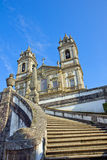 Basilica of Bom Jesus do Monte Stock Photography