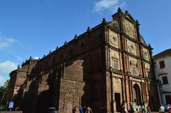 Basilica of Bom Jesus, Goa. Basilica of Bom Jesus Church, Goa, India Stock Images