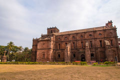 Basilica of Bom Jesus. Outer view of Basilica of Bom Jesus church in Old Goa Stock Images