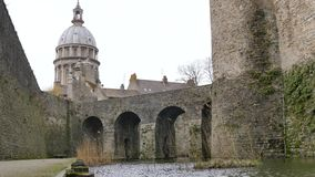 Basilica in Boulogne-sur-Mer, Francia archivi video