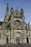 Basilica in brittany Stock Images