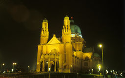 basilica brussels Royaltyfri Fotografi