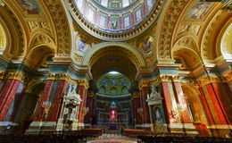 The Basilica in Budapest Royalty Free Stock Photos